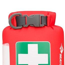 Saco Estanque para Primeiros Socorros 1 Litro Sea To Summit First Aid Dry Sack Vermelho