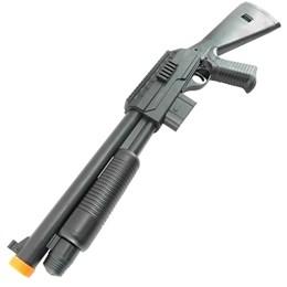 Shotgun Airsoft 6mm 210 FPS Vigor 0581B Spring Magazine para 90 BB's