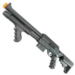 Shotgun Airsoft 6mm 210 FPS Vigor 0681D Spring Magazine para 90 BB's
