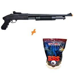 Shotgun Airsoft CYMA ZM61 280 fps Spring + 4000 BB's 0,20g