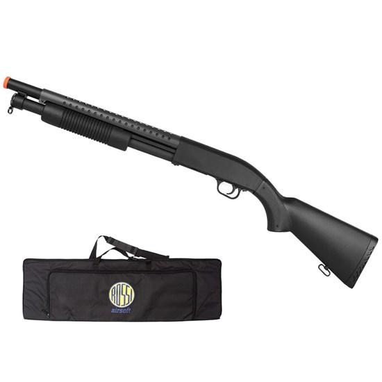 Shotgun M58A Airsoft 400 FPS Spring com Magazine + Case Mala ActionX