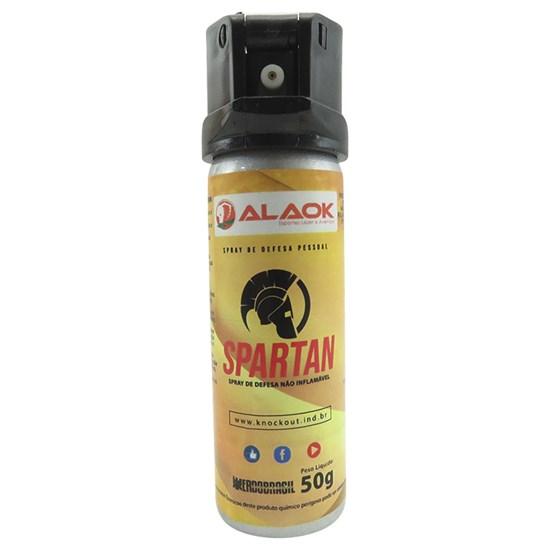 Spray de Defesa Pessoal ALK KNOCKOUT Spartan 50g Aerossol