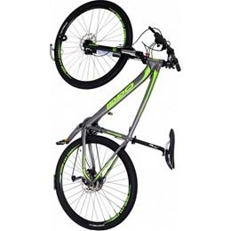 Suporte De Parede Vertical Para Bike C/ Apoio Pneu - Altmayer Al-249