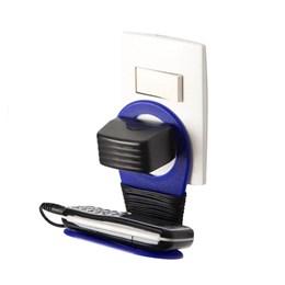 Suporte Plastico, Prático e Moderno para Celular, Cor Azul - GIFT4U DRIINN