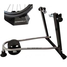 Suporte Rolo de Treinamento Dobrável Altmayer Alt Cicle com Base Niveladora