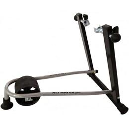 Suporte Rolo Treinamento Dobrável AL-200 + Suporte de Parede para Bike Vertical