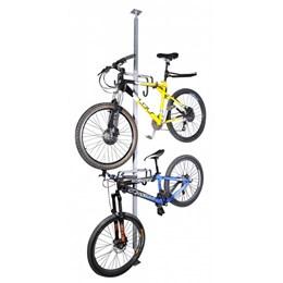 Suporte Tipo Pilar para 2 Bikes AL-52 + Suporte Organizador Raios AL-67 Altmayer