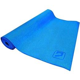 Tapete Colchonete de Yoga em EVA Simples Azul LiveUp LS3231B