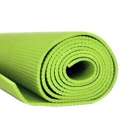 Tapete Colchonete de Yoga em EVA Simples Verde LiveUp LS3231G