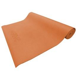 Tapete de Yoga Pilates Liveup LS3231O Colchonete em EVA Laranja