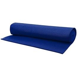 Tapete para Exercícios Yoga Pilates PVC 60cm Azul – ACTE T11