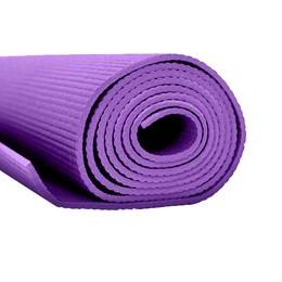 Tapete para Exercícios Yoga Pilates PVC 60cm Roxo – ACTE T10