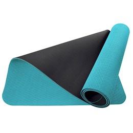 Tapete Yoga Mat Master para Yoga e Pilates Azul - ACTE T137-AZ