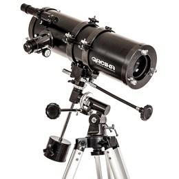 Telescópio Newtoniano Equatorial 1000X114mm com Tripé e Acessórios - Greika TELE-1000114