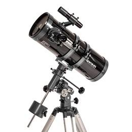 Telescópio Newtoniano Equatorial 1400X150mm Greika 1400150EQ com Tripé e Acessórios