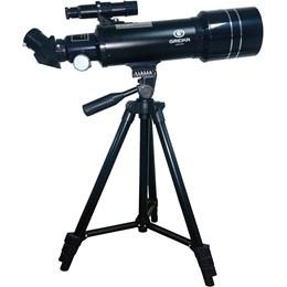 Telescópio Refrator Azimutal Abertura 70mm Distância Focal 400mm Greika TELE-40070