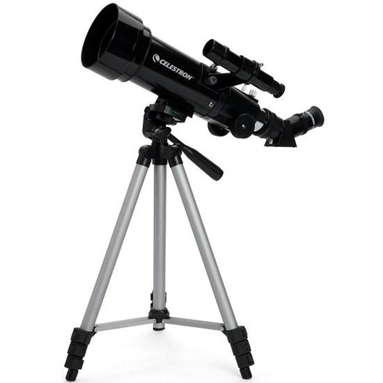 Telescópio Refrator Celestron Travel Scope 70 com Tripé e Mochila