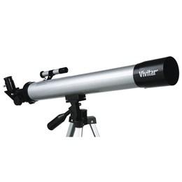 Telescópio Refrator com Tripé de Alumínio, Distância Focal 600mm - VIVITAR VIVTEL50600