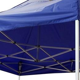 Tenda de Aluminio Rotony Articulada 3x3 Metros Impermeável Azul