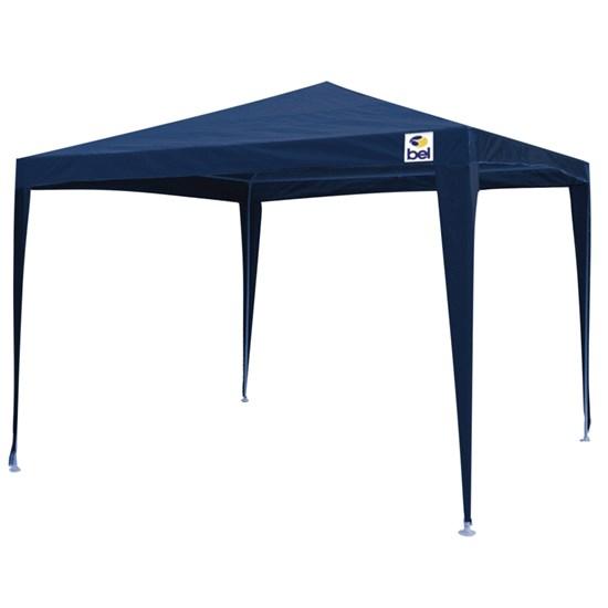 Tenda Gazebo 2x2m Belfix 301302 Desmontável Azul
