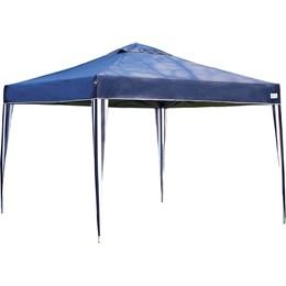 Tenda Gazebo Articulado Azul X-FLEX 3 x 3 com 2 Paredes MOR