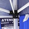 Tenda Gazebo Duxx Articulado Base 3 x 2,4 Metros Sanfonado Azul Nautika
