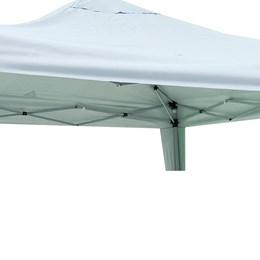 Tenda Gazebo X-Flex Branco 3 x 3 Metros, Estrutura em Aço Carbono - MOR 003539