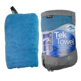 Toalha Ultra Absorvente Tek Towel Tamanho G Azul 60x120cm - Sea to Summit 801080