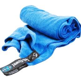 Toalha Ultra Absorvente Tek Towel Tamanho M Azul 50x100cm - Sea to Summit 801070
