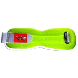 Tornozeleira de Neoprene 2,0Kg, Cor Verde (Par) - Red Nose