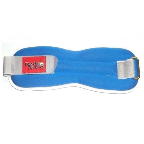Tornozeleira de Neoprene 2,5Kg, Cor Azul (Par) - Red Nose