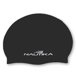 Touca para Natação de Silicone Tamanho Adulto Preto - Nautika 500650