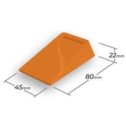 Trava Porta de Borracha Laranja ComfortDoor para Qualquer Piso e Vãos de 2mm