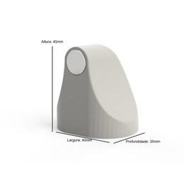 Trava Porta Magnético Universal ComfortDoor Branco
