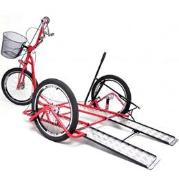 Triciclo Manual para Cadeirantes Altmayer Tricad AL-168 Vermelho