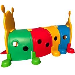 Túnel Infantil Centopeia para Crianças de 2 a 4 anos