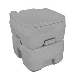 Vaso Banheiro Sanitário Químico 20L Portátil + Chuveiro Portátil 12V Nautika