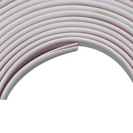 Veda Frestas Adesivo Comfortdoor 4X8mm Branco 6 metros para Portas e Janelas