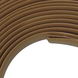 Veda Frestas Adesivo Comfortdoor 4X8mm Marrom Claro 6 metros para Portas e Janelas
