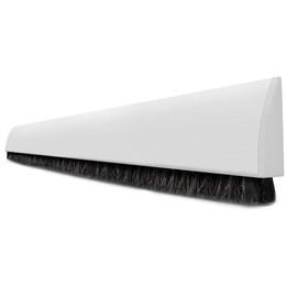 Veda Porta Adesivo Escova ComfortDoor Contra Insetos Poeira Água Branco 150 cm