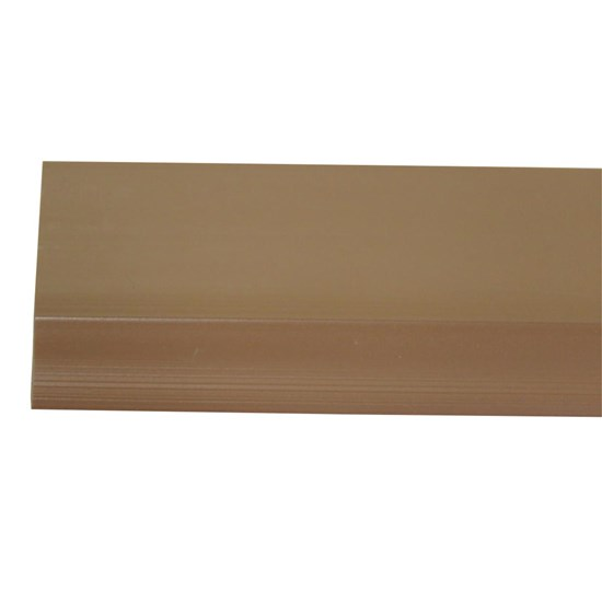 Veda Porta Adesivo Slim Contra Insetos Poeira Água Marrom Claro 90 cm