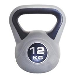 Vinyl Kettlebell para Treinamento Crossfit 12kg - Proaction G254