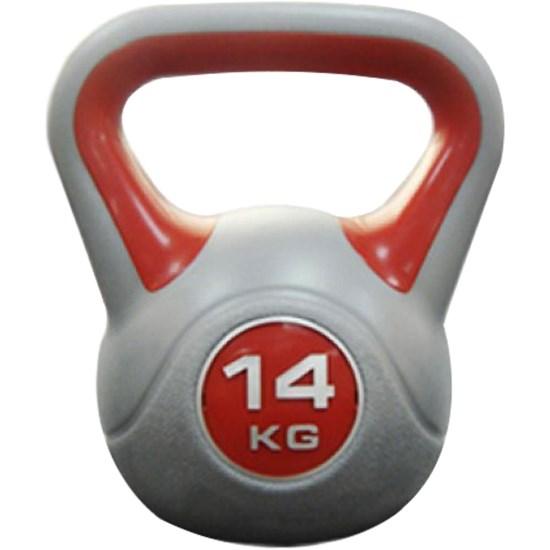 Vinyl Kettlebell para Treinamento Crossfit 14kg - Proaction G255