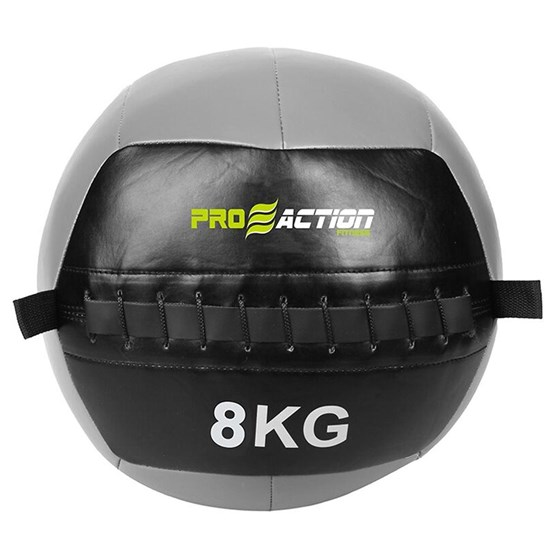 Wall Ball 8kg para Crossfit 35cm Cinza - ProAction G224